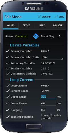 teknikol COMMANDER - Mobile Android HART® Communicator